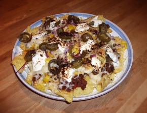 Nachos on the table