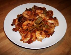 Prawn Chorizo plate 2